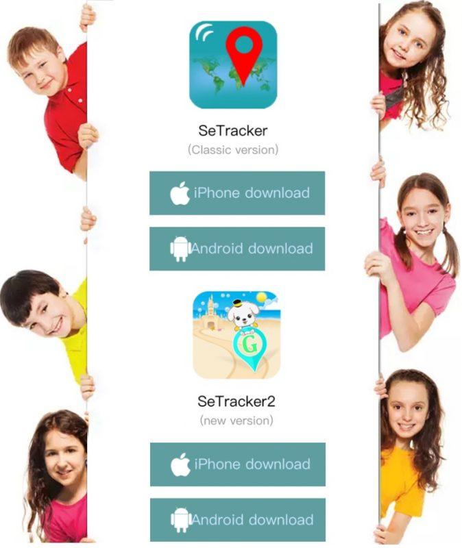 Hướng dẫn cài đặt ứng dụng Setracker2 cho đồng hồ định vị trẻ em Wonlex