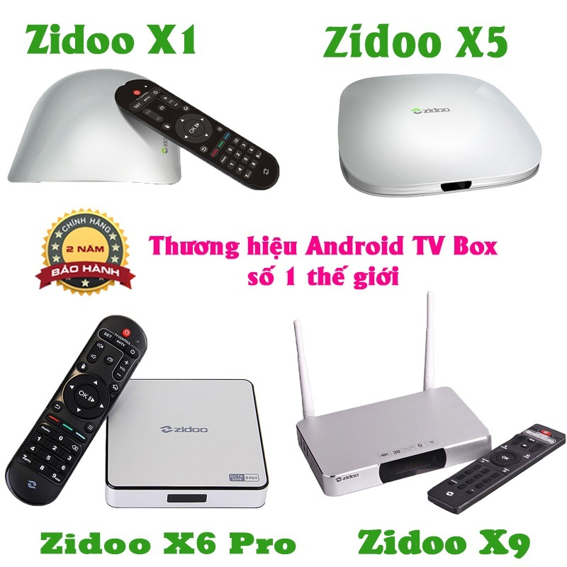 Zidoo android tv box