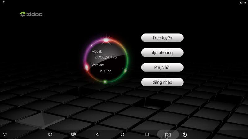 Hướng dẫn cập nhật Firmware v1.0.22 cho Zidoo X6 PRO - hỗ trợ Youtube Full HD 1080p