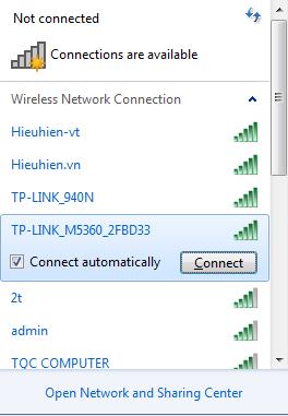 huong dan cau hinh bo phat wifi di dong tp-link m5360 - ket noi wifi