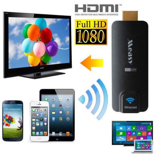 Hướng dẫn kết nối HDMI không dây với điện thoại, máy tính bảng, laptop