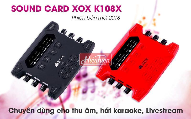 Hướng dẫn lắp đặt và sử dụng Sound Card XOX K108X phiên bản tiếng Anh 2018