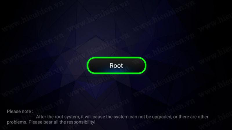 chon root de chay quyen root
