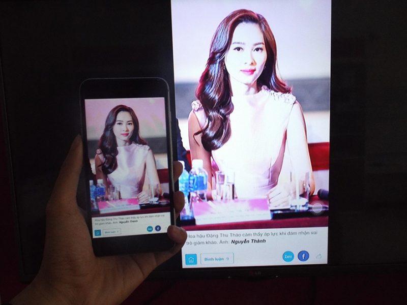 Hướng dẫn sử dụng Happy Cast chia sẻ màn hình điện thoại lên TV