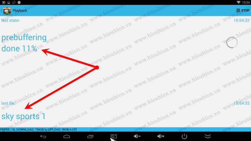 hướng dẫn sử dụng torrent stream controler để xem acestream - hình 03