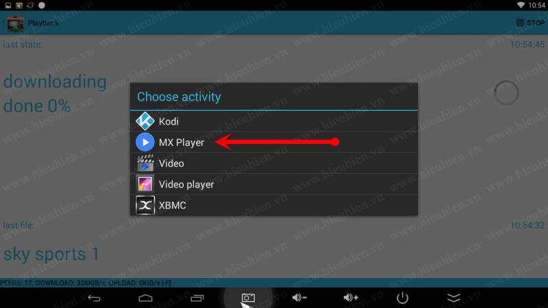 hướng dẫn sử dụng torrent stream controler để xem acestream - hình 04