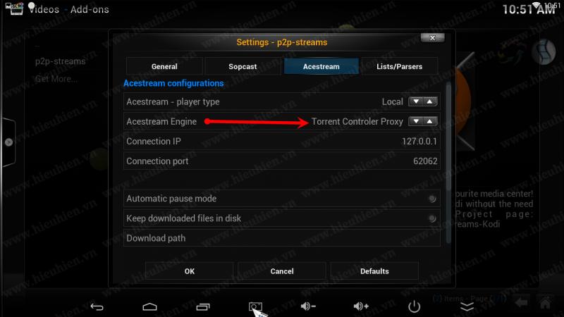 hướng dẫn sử dụng torrent stream controler để xem acestream - hình 01