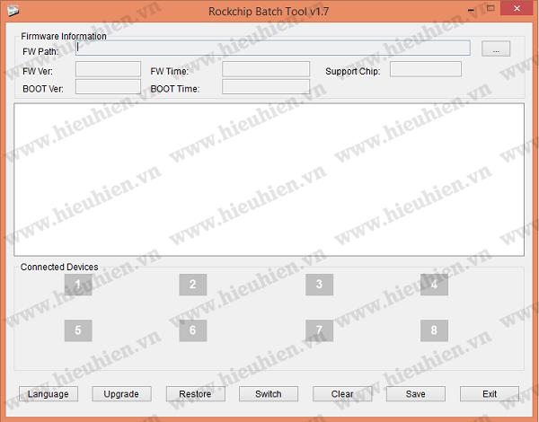 Hướng dẫn Update Firmware cho Android TV Box dòng Rockchip