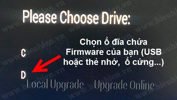 Hướng dẫn Update Firmware cho Android TV Box dòng Himedia