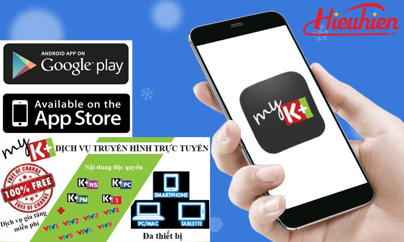 Hướng dẫn đăng ký tài khoản myK+ để xem truyền hình K+ trên Android TV Box