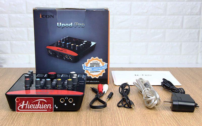 icon upod pro - sound card thu âm chuyên nghiệp - phụ kiện