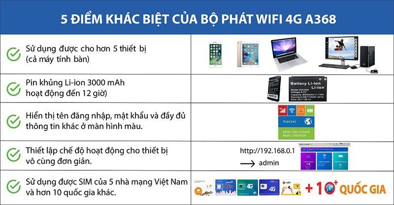 bo phat wifi 4g igo a368 - thiet bi phat wifi di dong toc do cao 150mbps 06