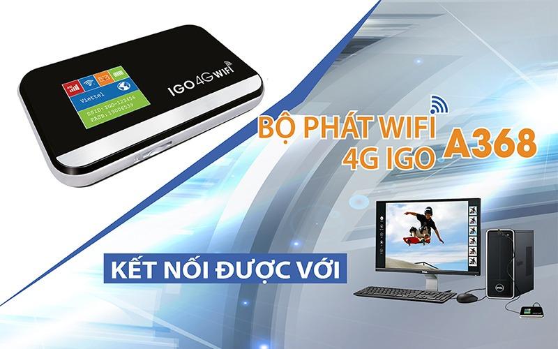 bo phat wifi 4g igo a368 - thiet bi phat wifi di dong toc do cao 150mbps 07