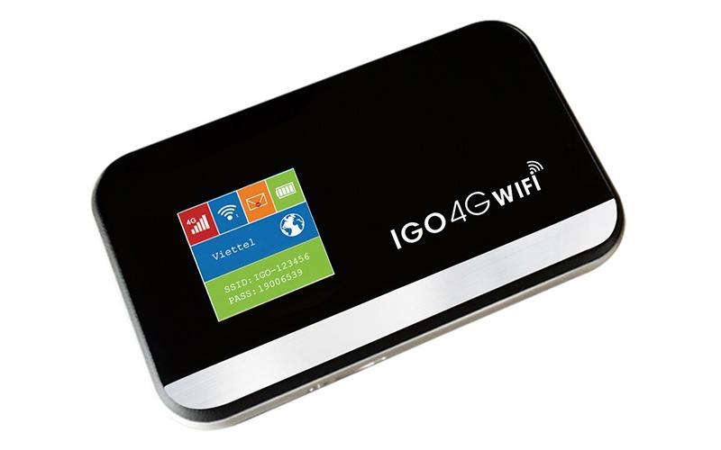 bo phat wifi 4g igo a368 - wifi di dong toc do cao 150mbps