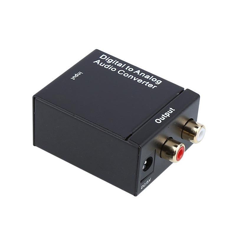 kit da-01 - bộ chuyển đổi tín hiệu âm thanh optical, coaxial sang analog - hình 01