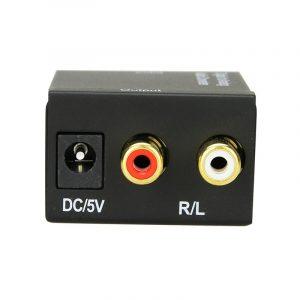 kit da-01 - bộ chuyển đổi tín hiệu âm thanh optical, coaxial sang analog - hình 02