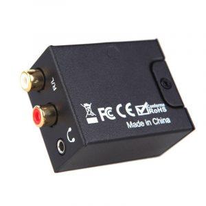 kit da-02 - bộ chuyển đổi âm thanh optical, coaxial sang analog, có đầu ra 3.5 - hình 02
