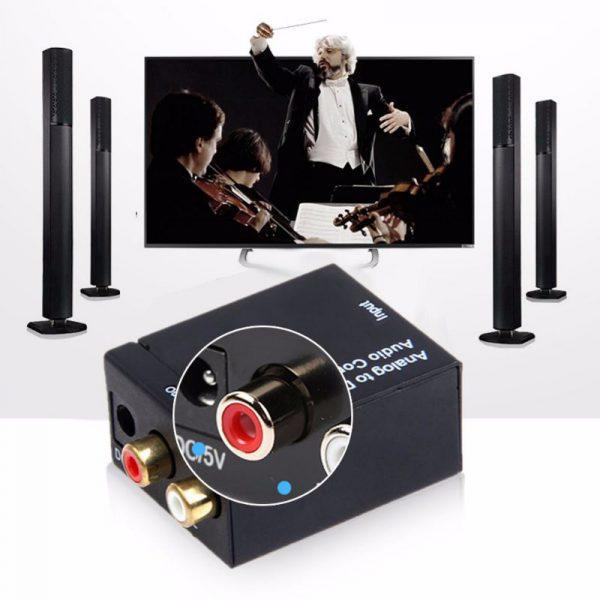 kit da-02 - bộ chuyển đổi âm thanh optical, coaxial sang analog, có đầu ra 3.5 - hình 04