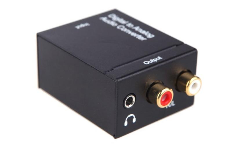 kit da-02 - bộ chuyển đổi âm thanh optical, coaxial sang analog, có đầu ra 3.5 - hình 06