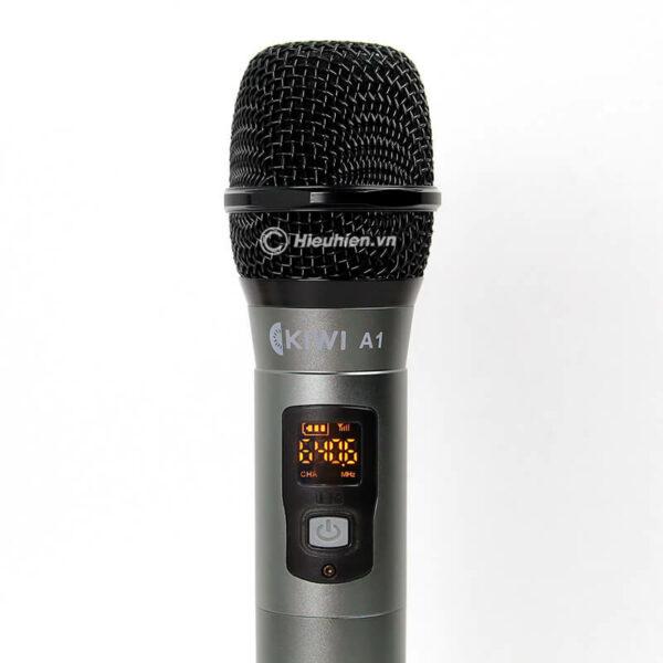 kiwi a1 micro karaoke không dây - hình 01