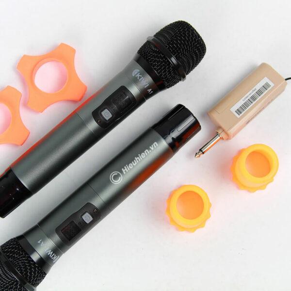 kiwi a1 micro karaoke không dây - hình 02