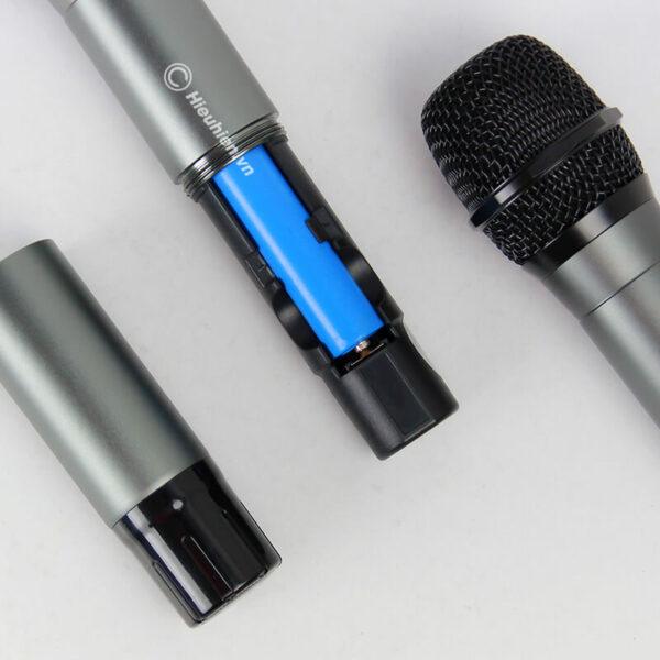 kiwi a1 micro karaoke không dây - hình 03