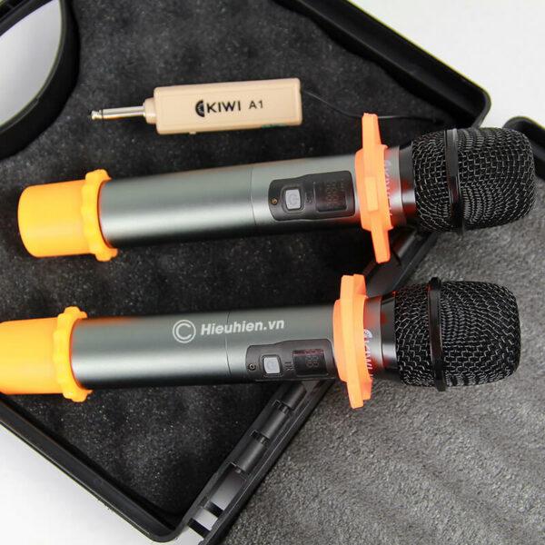kiwi a1 micro karaoke không dây - hình 05
