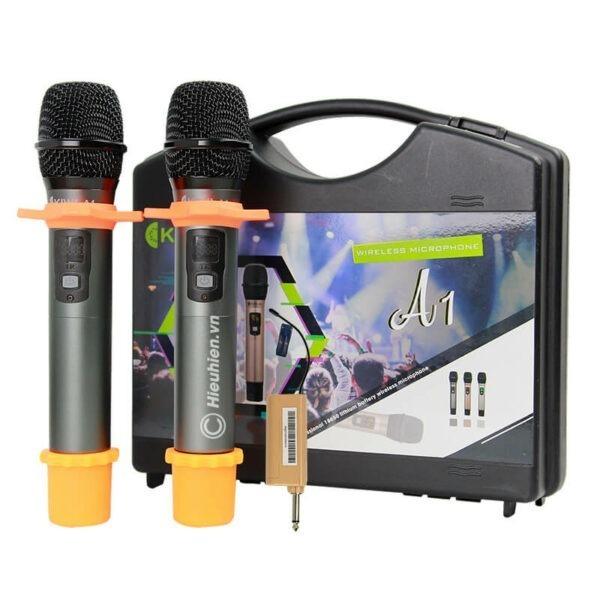 kiwi a1 micro karaoke không dây - hình 06