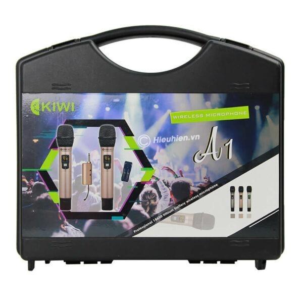 kiwi a1 micro karaoke không dây - hình 07