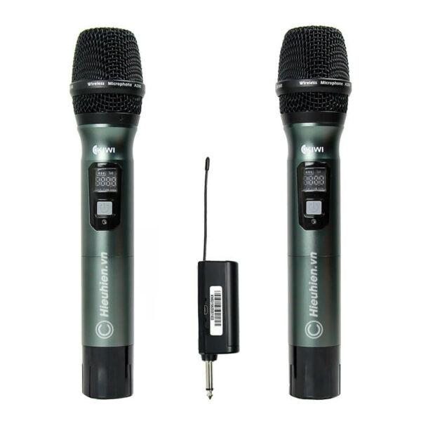 kiwi a200 micro không dây hát karaoke chuyên nghiệp - hình 01