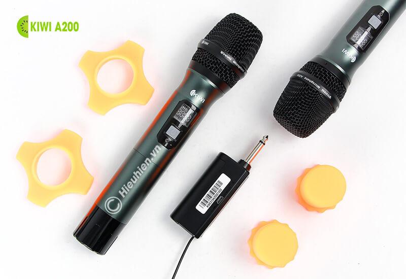 kiwi a200 micro không dây hát karaoke chuyên nghiệp - đế chân