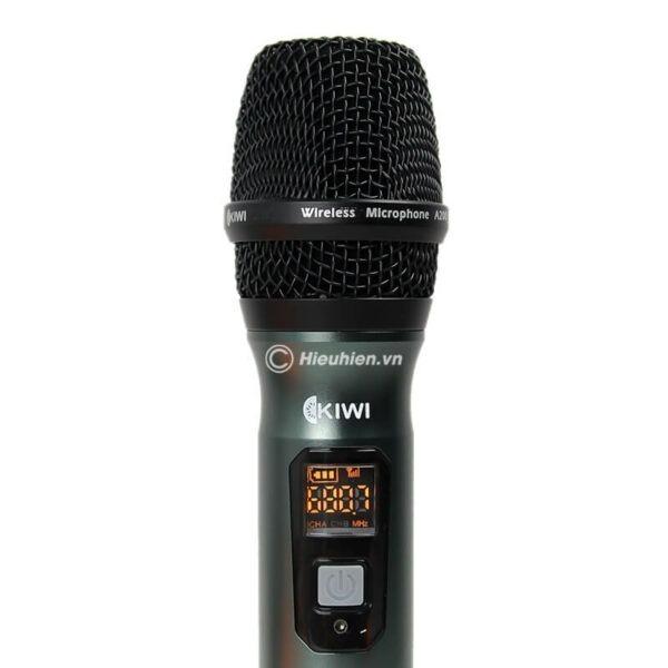kiwi a200 micro không dây hát karaoke chuyên nghiệp - hình 02
