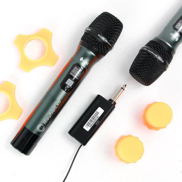 kiwi a200 micro không dây hát karaoke chuyên nghiệp - hình 03