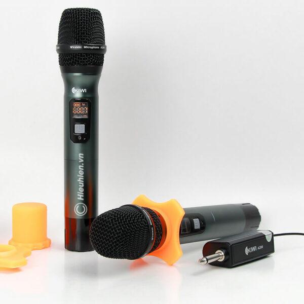 kiwi a200 micro không dây hát karaoke chuyên nghiệp - hình 04