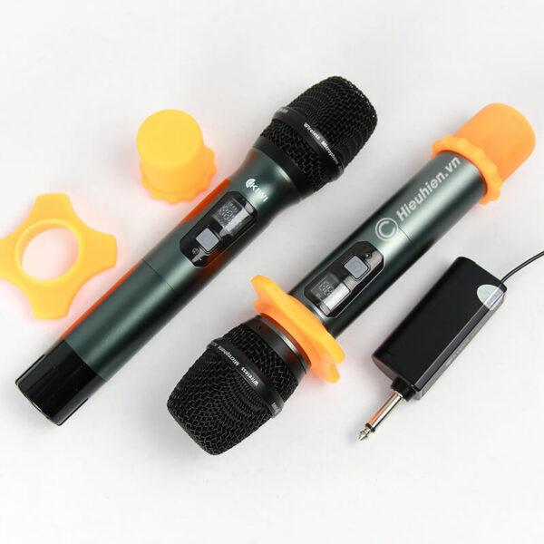 kiwi a200 micro không dây hát karaoke chuyên nghiệp - hình 05