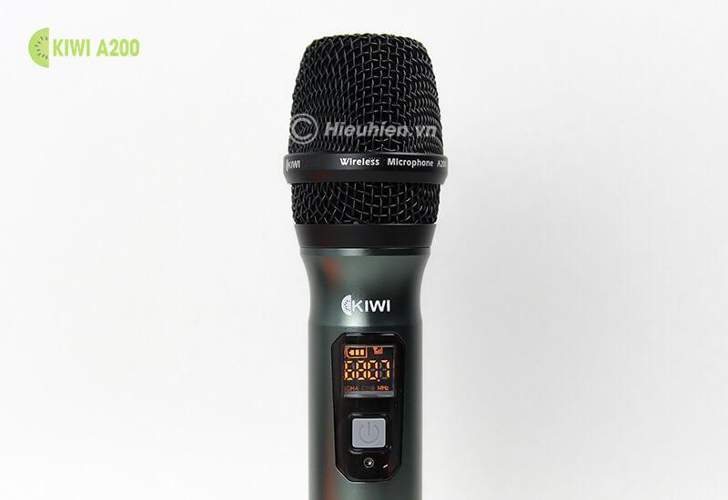 kiwi a200 micro không dây hát karaoke chuyên nghiệp - đầu micro