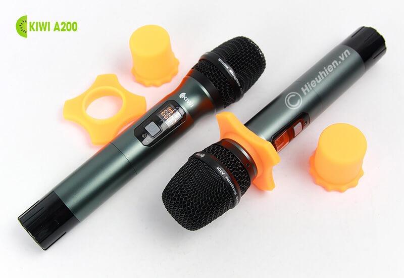 kiwi a200 micro không dây hát karaoke chuyên nghiệp - giá đỡ