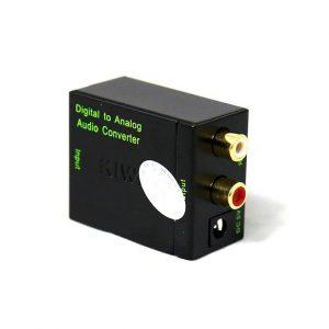 kiwi ka-01 - bộ chuyển đổi tín hiệu optical, digital sang analog - hình 02