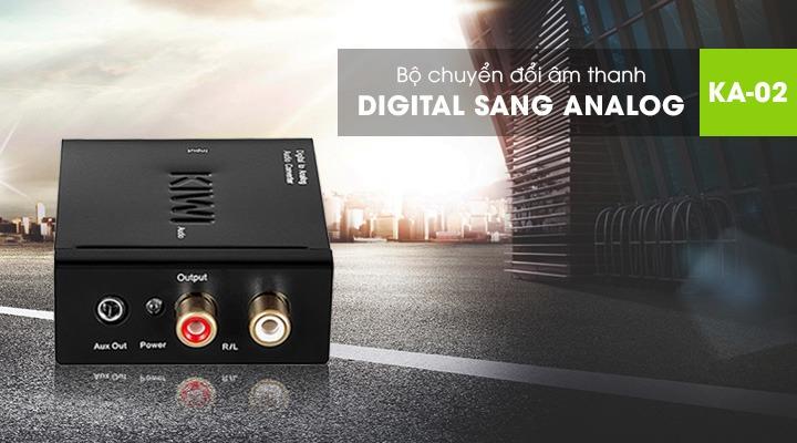 Bộ chuyển đổi âm thanh quang Kiwi KA02