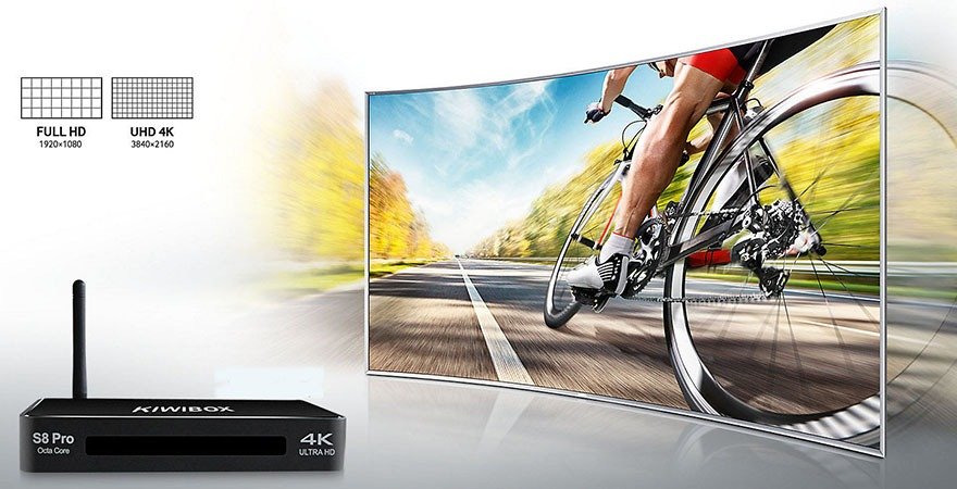 kiwibox s8 pro chinh hang gia re android tv box chip 8 nhan ram 3g 04