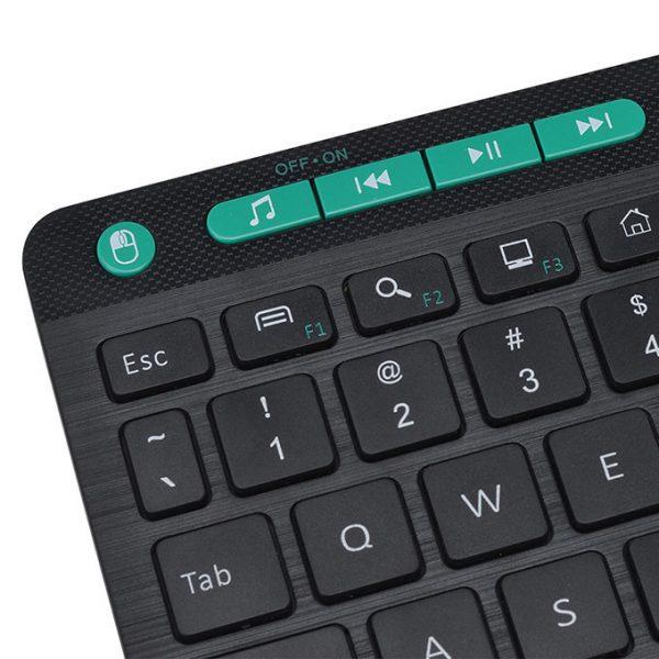 konig kc300t - bàn phím không dây cho android tv box, smart tivi - hình 05