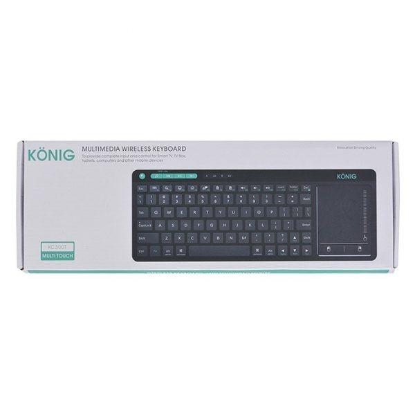 konig kc300t - bàn phím không dây cho android tv box, smart tivi - hình 10