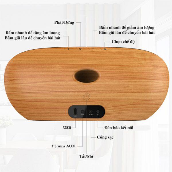 Loa Bluetooth Vidson V8 công suất 30W, âm thanh cao cấp, bass cực mạnh 01