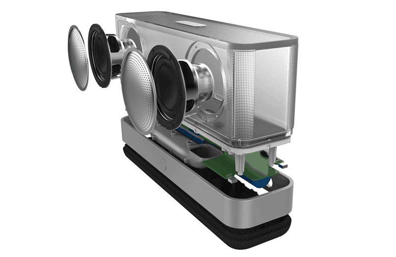 Loa Bluetooth Vidson I30 công suất 20W, thiết kế trong suốt độc đáo - cấu tạo