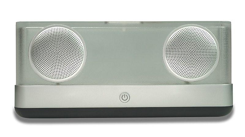 Loa Bluetooth Vidson I30 công suất 20W, thiết kế trong suốt độc đáo - nút nguồn