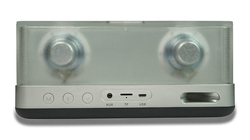 Loa Bluetooth Vidson I30 công suất 20W, thiết kế trong suốt độc đáo - cổng kết nối