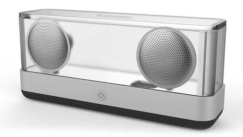 Loa Bluetooth Vidson I30 công suất 20W, thiết kế trong suốt độc đáo - mặt trước