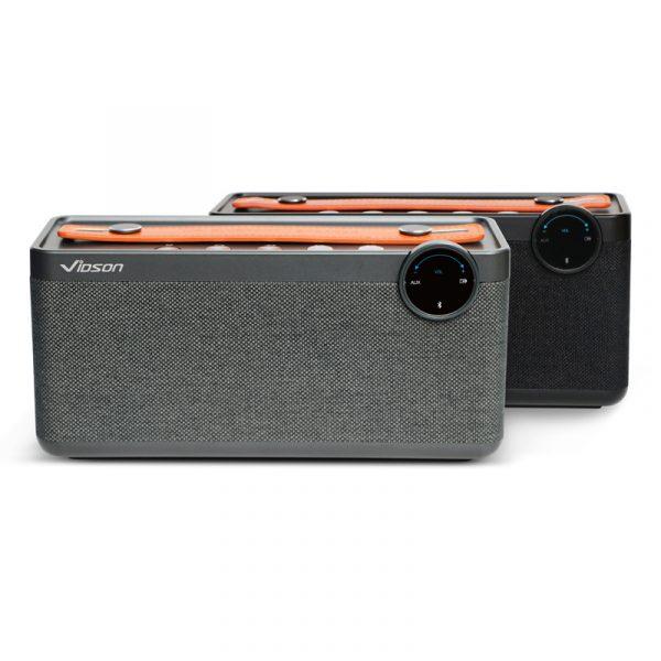 Loa Bluetooth Vidson V6 công suất 25W, âm thanh sống động, bass mạnh mẽ 06