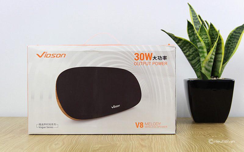 Loa Bluetooth Vidson V8 công suất 30W, âm thanh cao cấp, bass cực mạnh 11