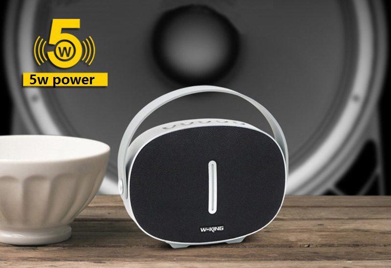 Loa Bluetooth W-King T6 Chính Hãng | Âm Thanh Hay - Chất Lượng Tốt 07